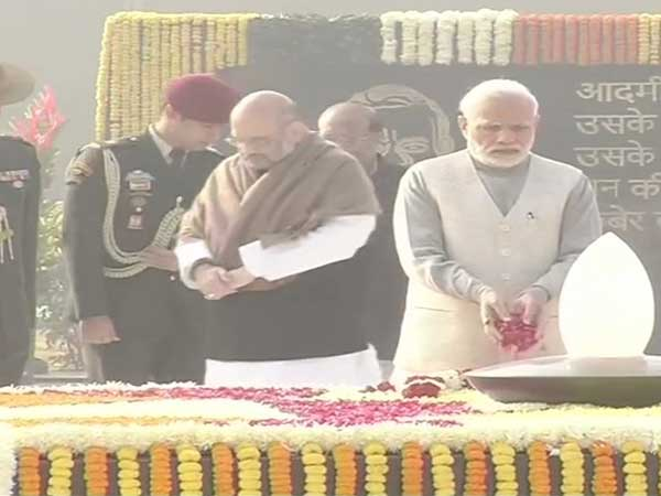 Atal Bihari Vajpayees birth anniversary: Prez Kovind, PM Modi pay homage