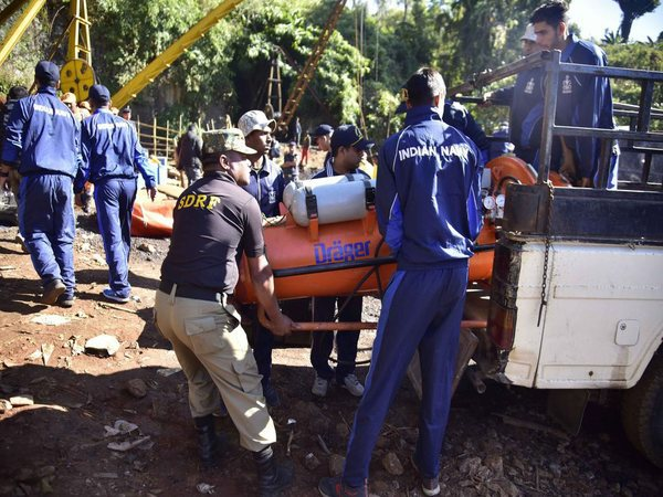 Meghalaya Mining Disaster: Navy divers re-enter shaft, want water level reduced