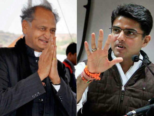 In Rajasthan: It's Ashok Gehlot versus Sachin Pilot for CM race