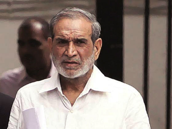 Former Congress leader Sajjan Kumar. PTI file photo