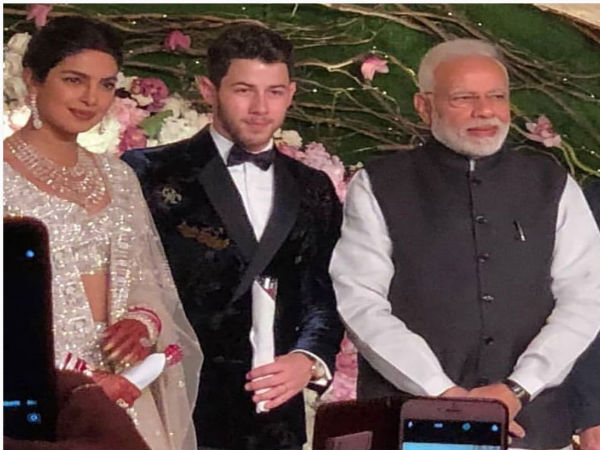 Delhi: Modi attends Priyanka Chopra-Nick Jonas wedding reception