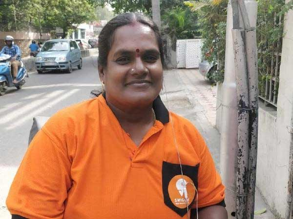 This woman becomes first Swiggy delivery executive