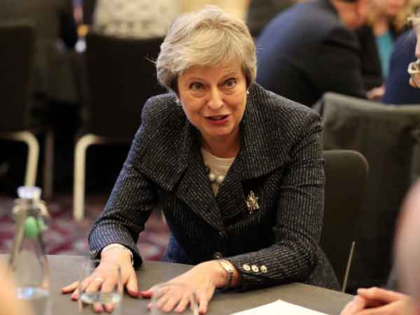 British Prime Minister Theresa May. File photo