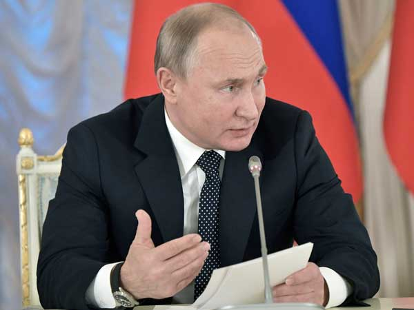 Putin says Russian 'open to dialogue' New Year message to Trump; pledges support to Syria too
