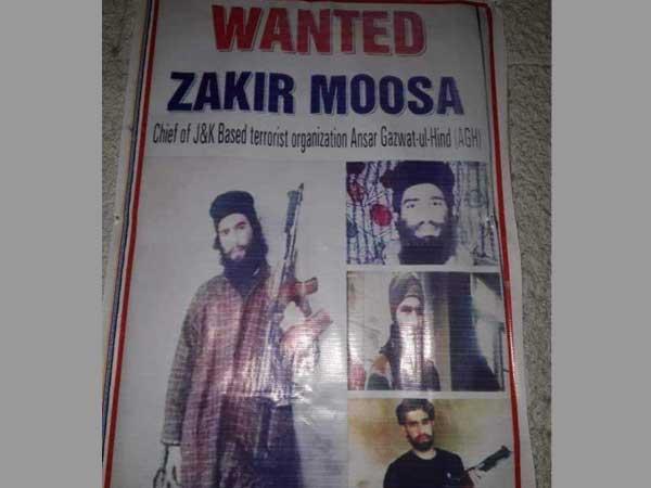 Punjab on high alert after Kashmir terrorist Zakir Musa is spotted