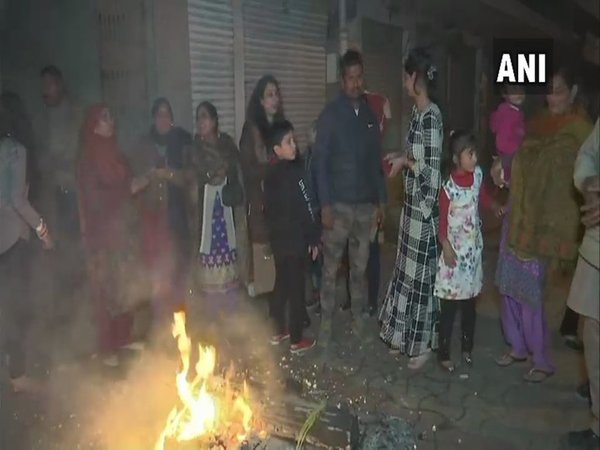 Lohri celebrations in Amritsar