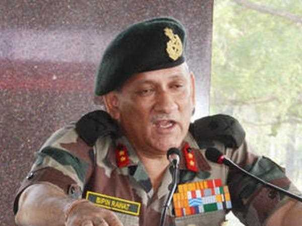 Strong action against terror activities along India-Pakistan border, warns Bipin Rawat on Army day