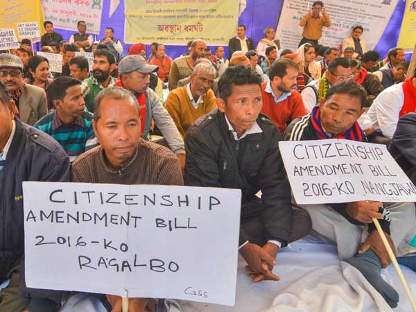 [Protests rage on in Assam over Citizenship Bill]