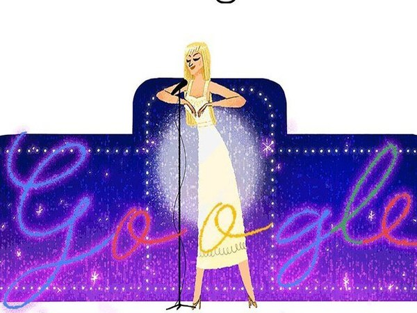 Google doodle celebrates Dalida's 86th Birthday