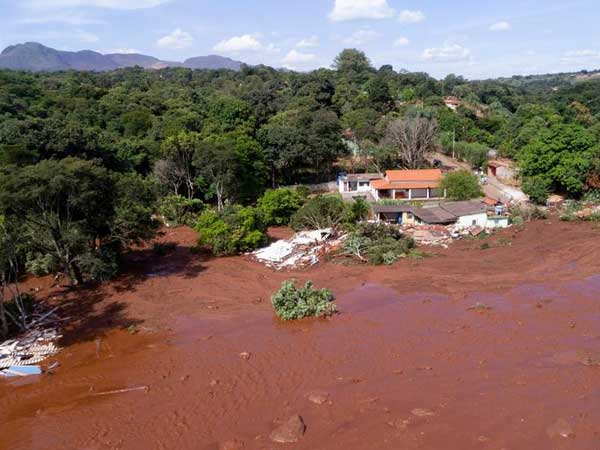Death toll from dam disaster at Brazil mine rises to 34