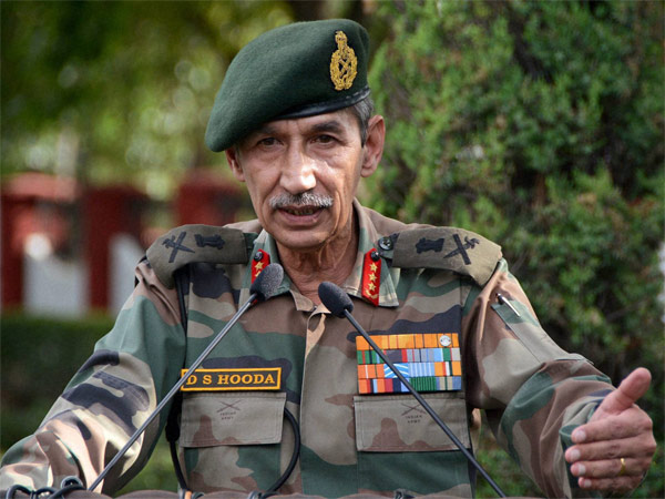 Lieutenant General (retired) DS Hooda