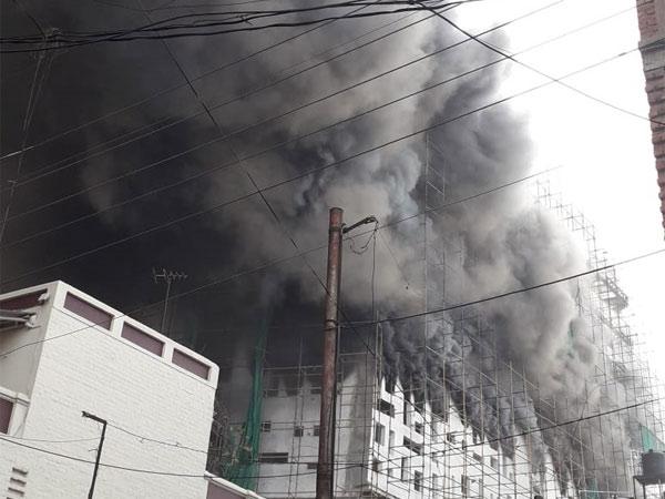 Nagpur: Massive fire at under construction hospital; 7 injured
