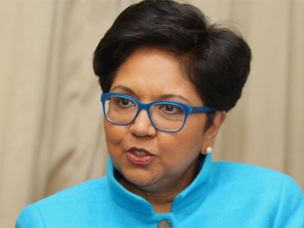 File photo of former PepsiCo chairman and CEO Indra Nooyi who, according to media reports, is being considered by the White House to be the next World Bank President.