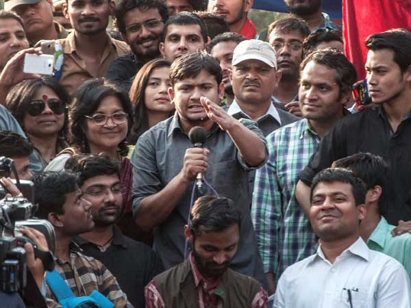 Kanhaiya Kumar led a procession and supported seditious slogans at JNU