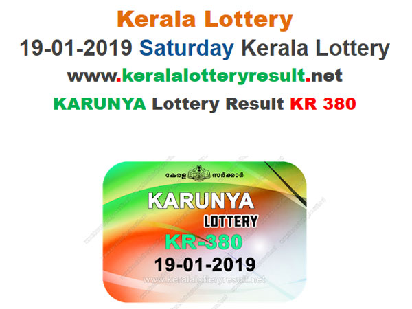 Kerala Lottery Result Today: Karunya KR-380 Lottery results, win Rs 80 lakh