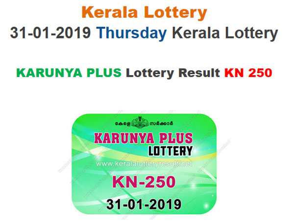 Kerala Lottery Result Today: Karunya Plus KN 250 Today