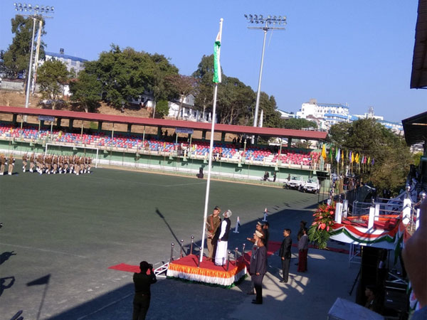 On Republic Day, Mizoram governor addresses an empty ground