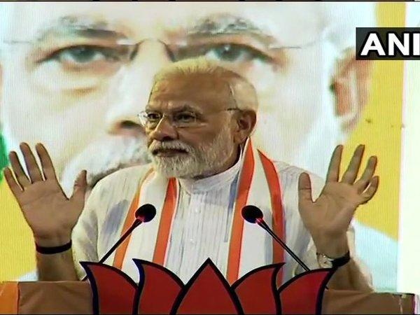 PM Modi attacks LDF, UDF over Sabarimala and Triple talaq issue