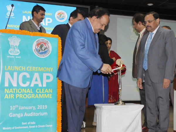 NCAP launched by Dr Harshvardhan