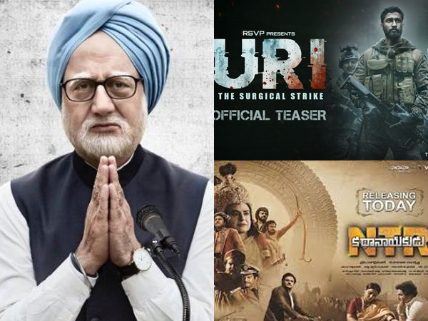 Movie on surgical strike, political biopics line up for release ahead 2019 elections