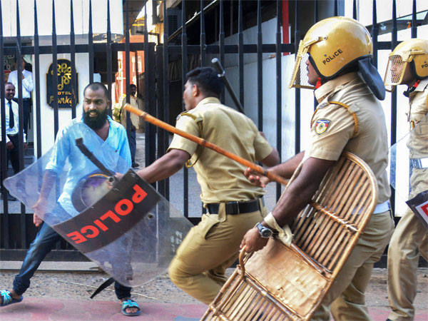 Sabarimala violence: Case against 4 RSS workers for hurling bombs at Police