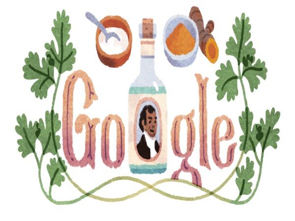 Google dedicates doodle to Sake Dean Mahomed