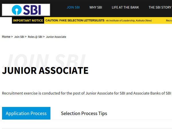 SBI clerk 2019 notification: When will the application form be out?