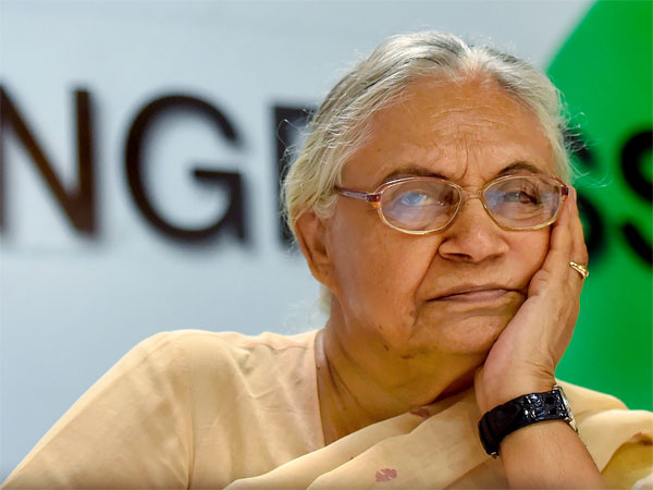 Senior Congress leader and Delhi former chief minister Sheila Dikshit
