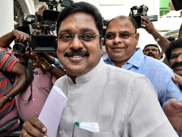 TTV Dinakaran. File photo