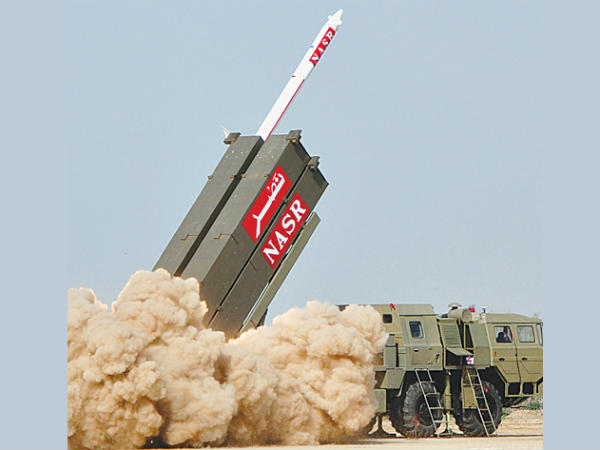 Pakistan: Surface-to-surface ballistic missile 'Nasr' test fired successfully