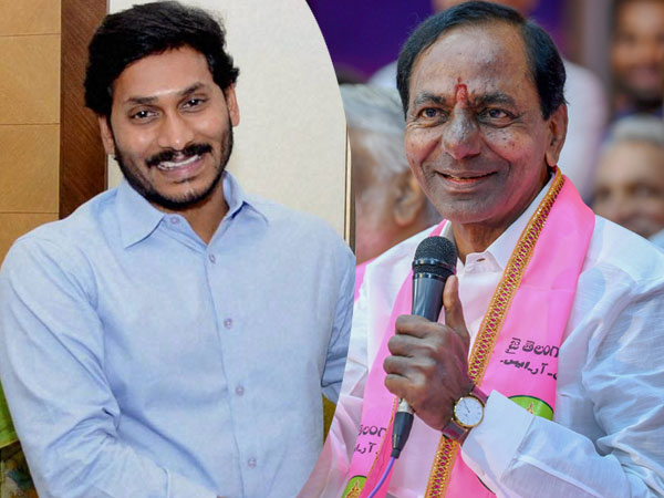 YS Jagan Mohan Reddy and K Chandrashekar Rao