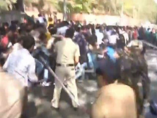 Hearing-impaired youth protesting in Pune allege police baton – charge