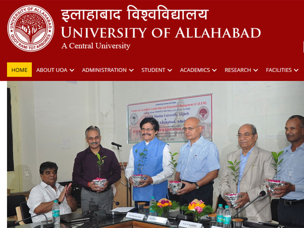 Direct link to download University of Allahabad admit card 2019