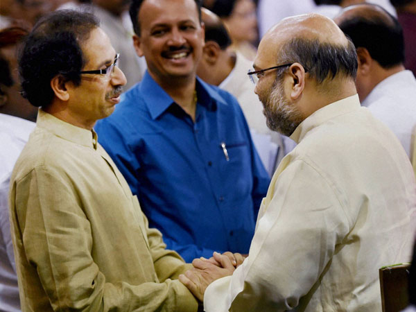 'Holy alliance': Congress takes dig as BJP, Sena become friends again