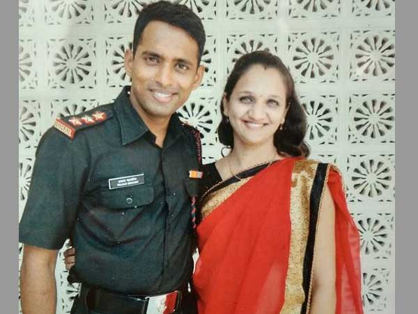 Martyred Army Majors wife tops SSB to join Army as a tribute to her Late husband