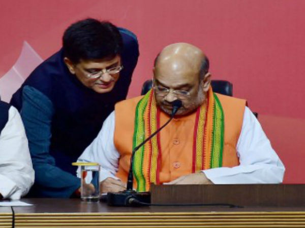 Amit Shah, Piyush Goyal to visit Tamil Nadu today, likely to announce BJP-AIADMK alliance