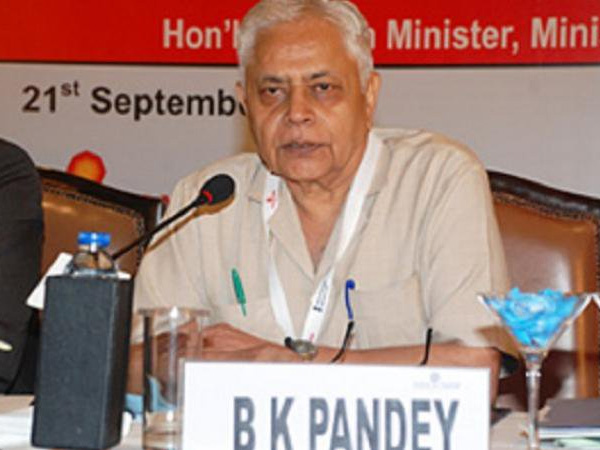 Air Marshal (Retd), B K Pandey