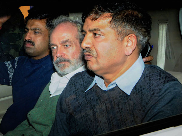 Christian Michel (C), the alleged middleman in the multi-crore AgustaWestland chopper deal. PTI file photo
