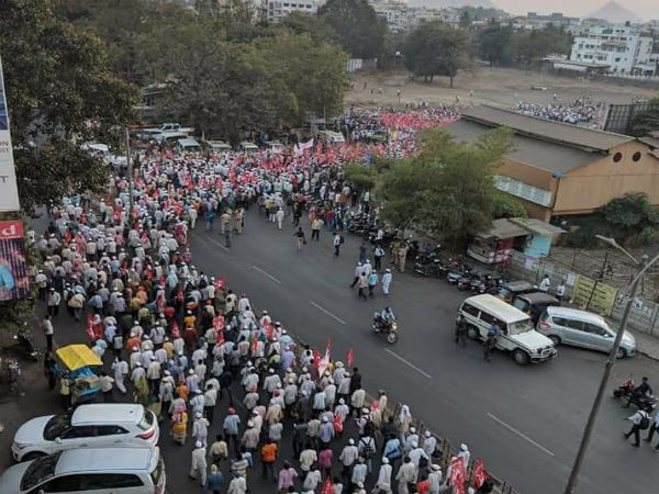 Maharashtra: Over 50,000 farmers set to take out march from Nashik to Mumbai today