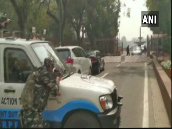 Delhi: Security on high alert after Congress MP's car rams into Parliament barricade