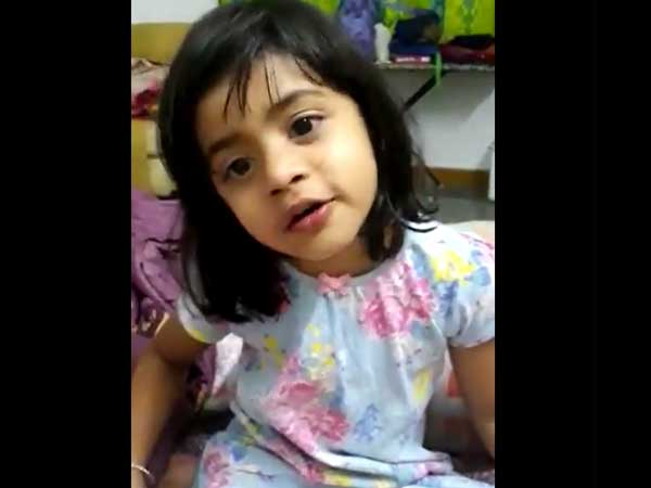 Video: Little girl recalls what her martyred armyman dad taught her & it's touching