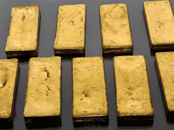 Chinese man held with gold bars at IGI airport
