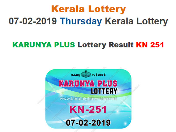 Kerala Lottery Result Today: Karunya Plus KN-251 Today Lottery