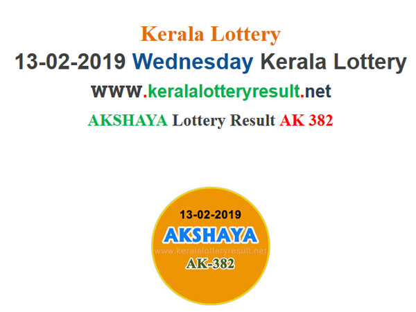 Kerala Lottery Result Today: Akshaya AK-382 Today Lottery results, win Rs 60 lakh