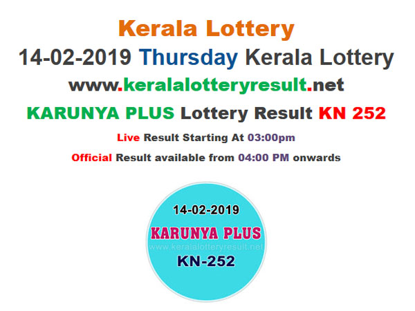 Kerala Lottery Result Today: Karunya Plus KN-252 today lottery results LIVE now