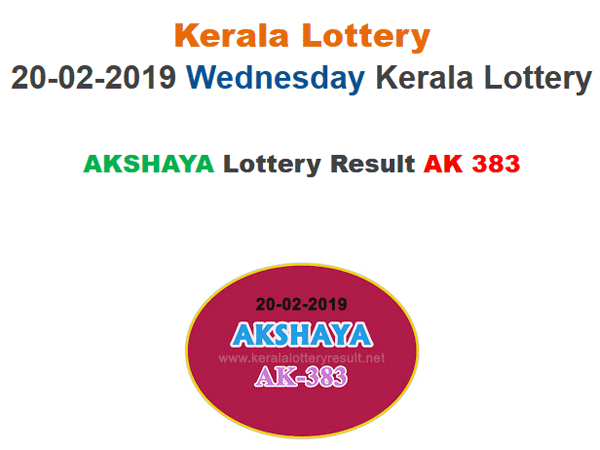 Kerala Lottery Result Today: Akshaya AK-383 Today Lottery results, win Rs 60 lakh