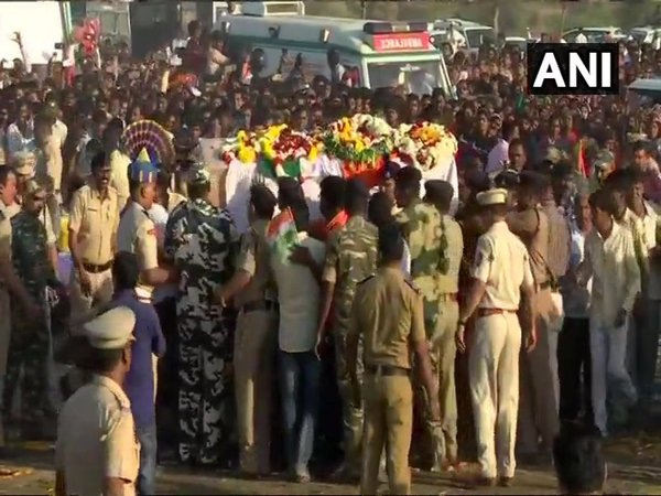 Mortal remains of Nitin Shivaji Rathod from Maharashtra