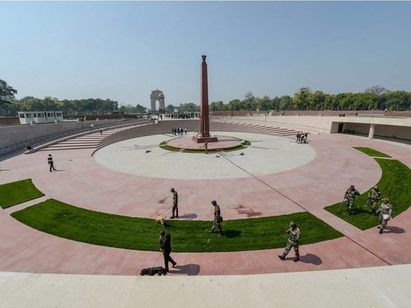 A view of the National War Memorial