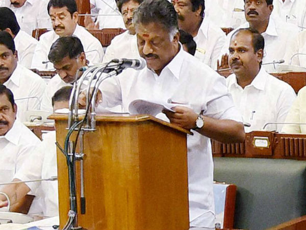 Tamil Nadu budget 2019 to be presented today: Farmer welfare, unemployment on cards