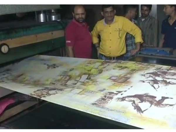 Surat mill prints sarees with Pulwama martyrs' pictures on them; to donate profits to families